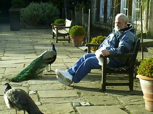 Uncle Roger February 2003, Warkwick Castle